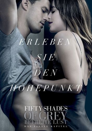 Filmposter Fifty Shades Of Grey - Befreite Lust