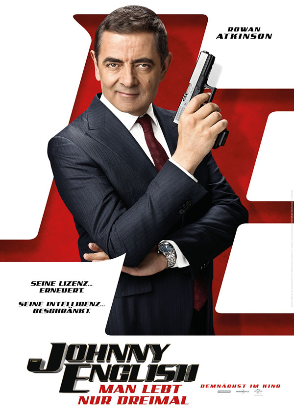 Filmposter JOHNNY ENGLISH 3 - Man lebt nur dreimal