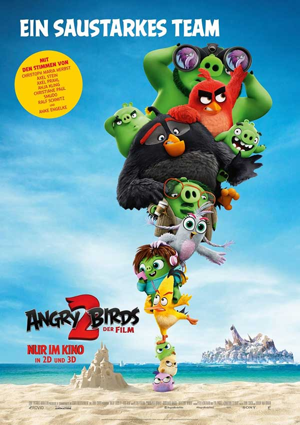 Filmposter Angry Birds 2 - Der Film