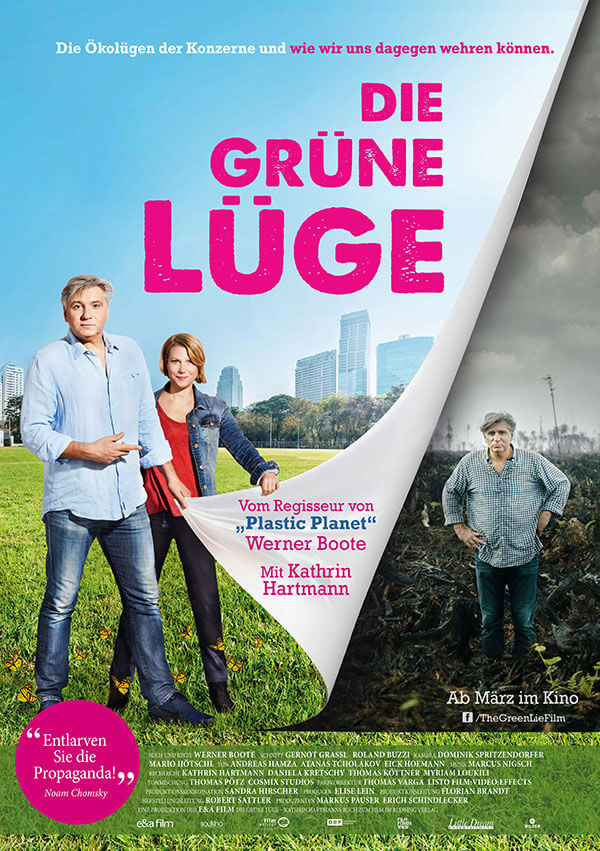 Filmposter The Green Lie – Die grüne Lüge
