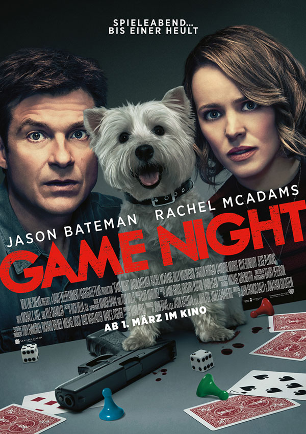 Filmposter Game Night