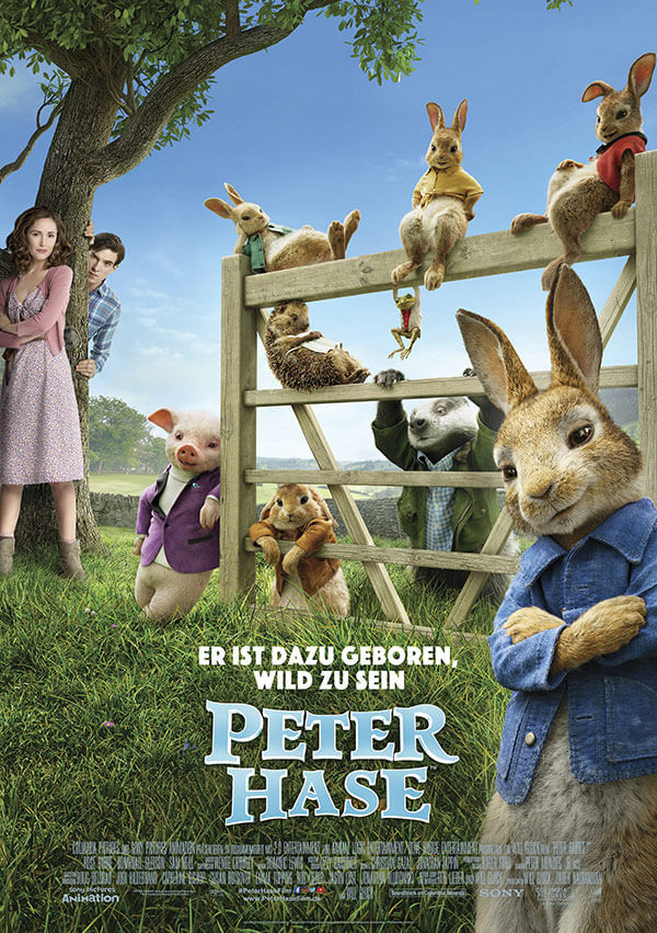 Filmposter Peter Hase
